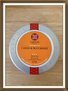ルピシアのお茶、カシスブルーベリー