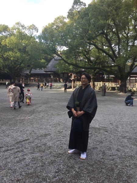 熱田神宮のお茶会( *´艸`)