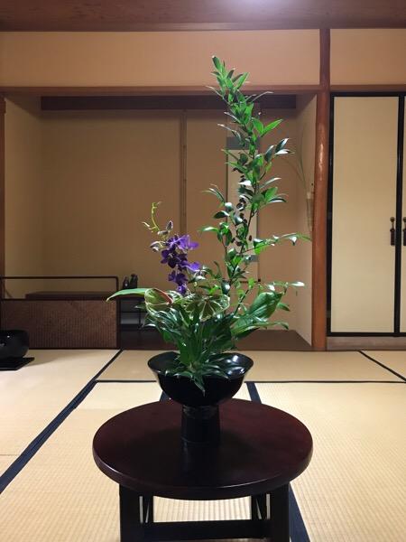 石田流生け花 盛花立型