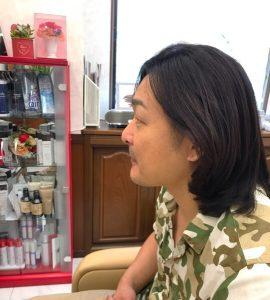 春日井市の美容室へ✂