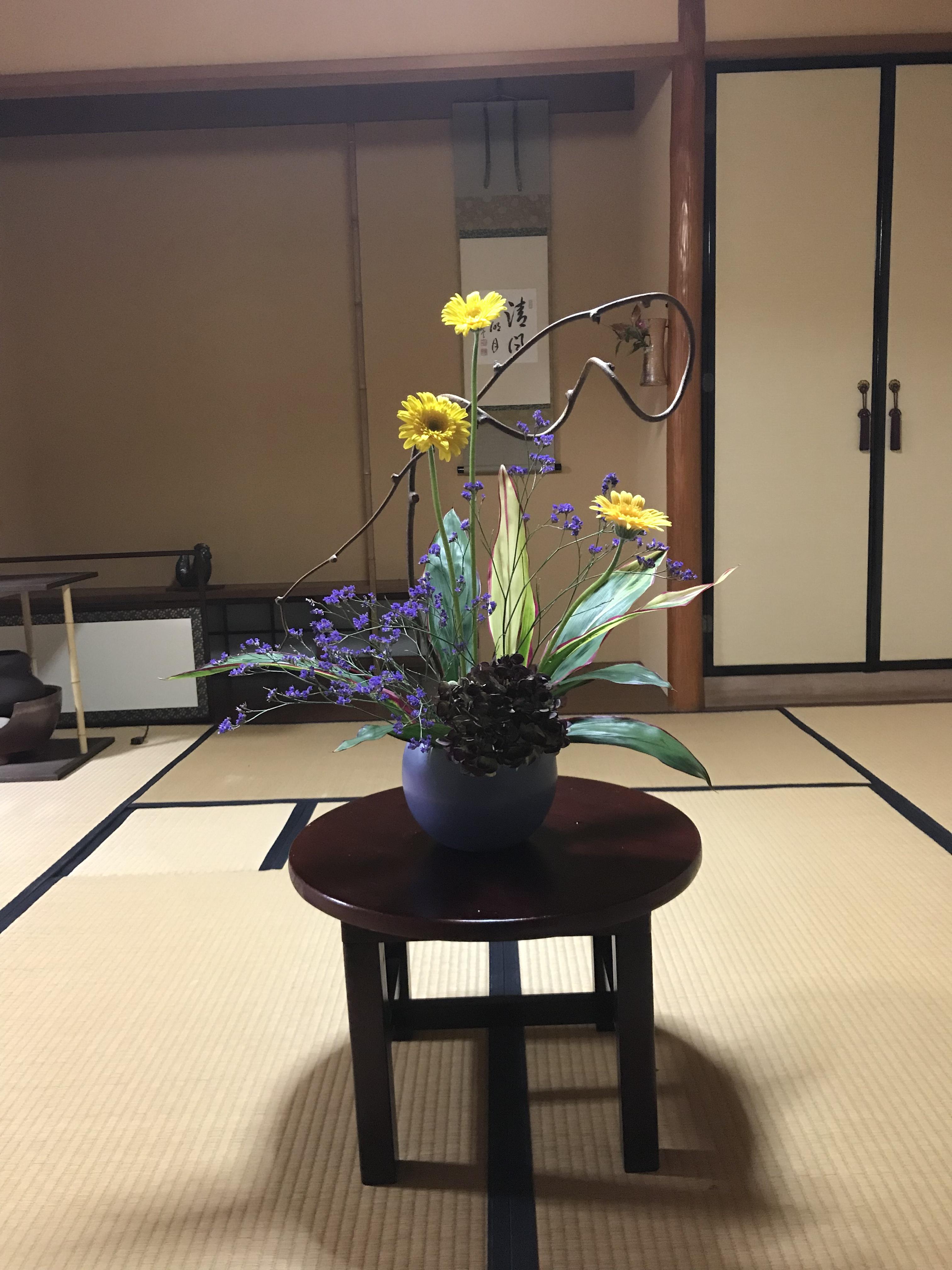 石田流生け花