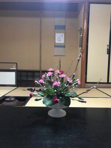 尾張旭の石田流生け花