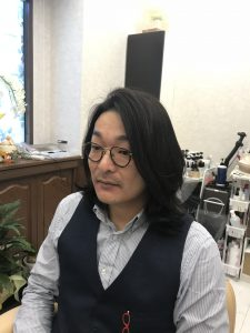 ロングからショートへの断髪式in春日井