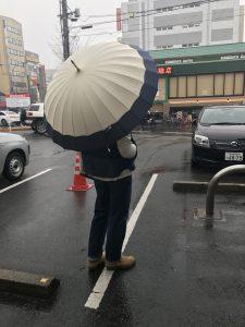 大須で見つけた和傘。