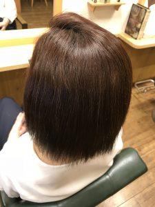 尾張旭の美容師キノシタは縮毛矯正のお薬にもこだわってます。