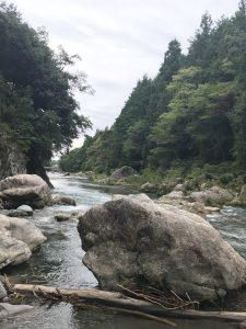 尾張旭美容師キノシタの森林浴in秋川渓谷