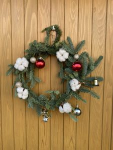 尾張旭市美容室untree  クリスマスリース