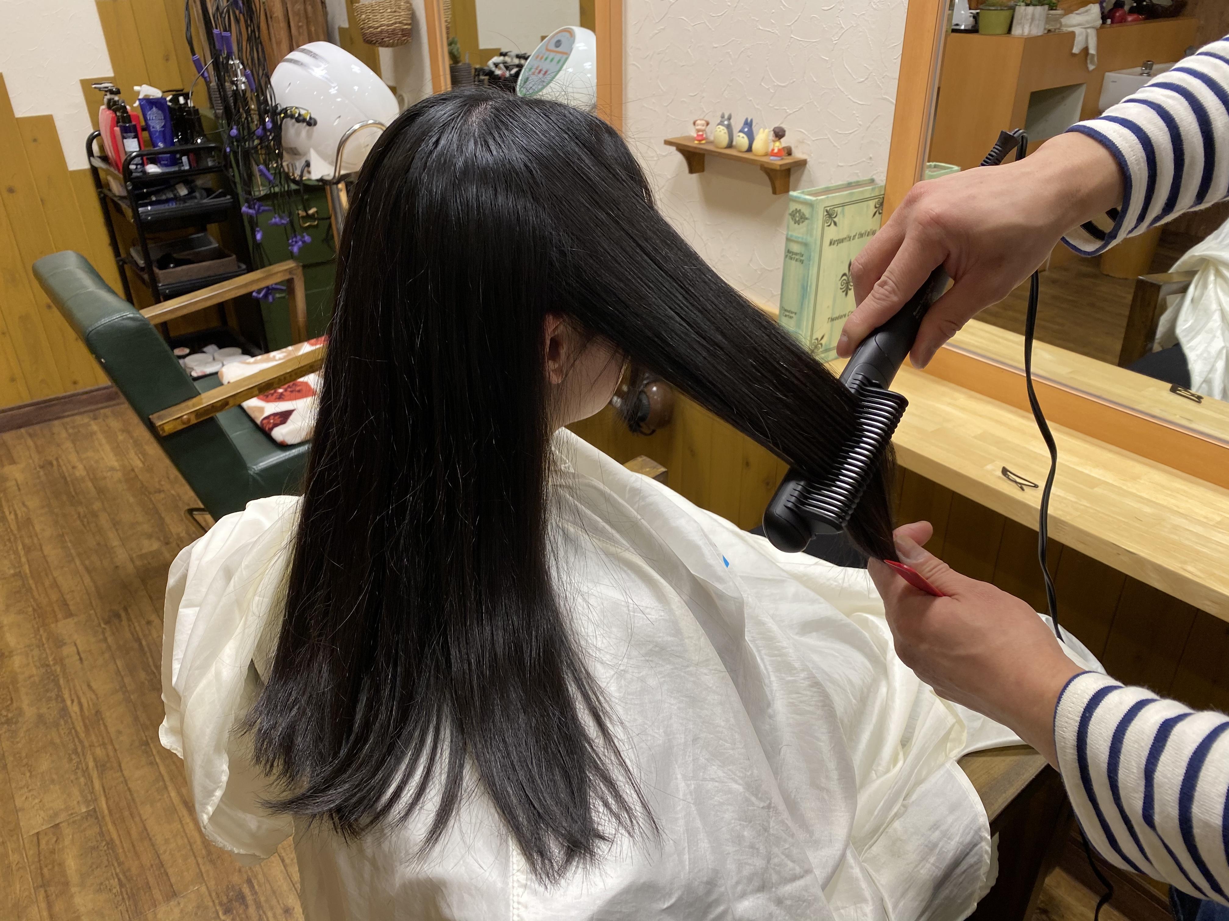 毎朝の髪のセットをラクラクに♪o(*^・^*)